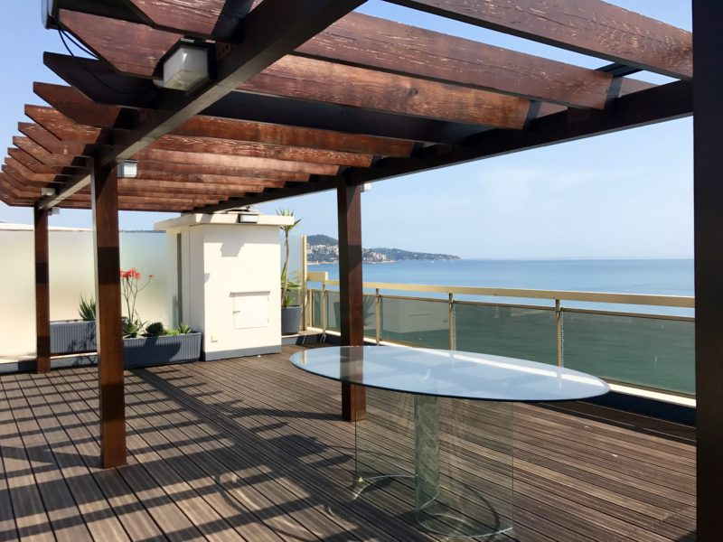 Pergola du toit terrasse