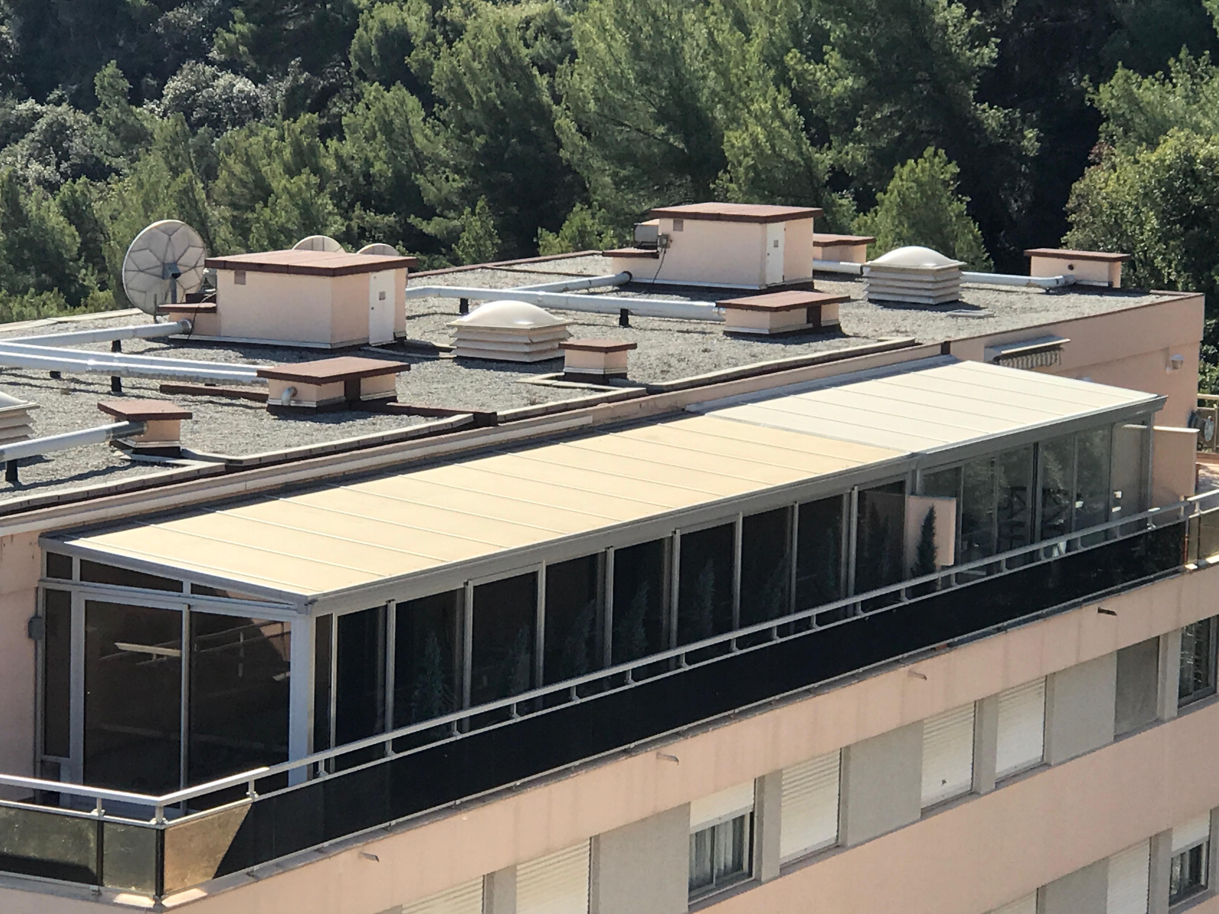 Conception et réalisation d'une véranda de 39 m2 à Villefranche sur Mer
