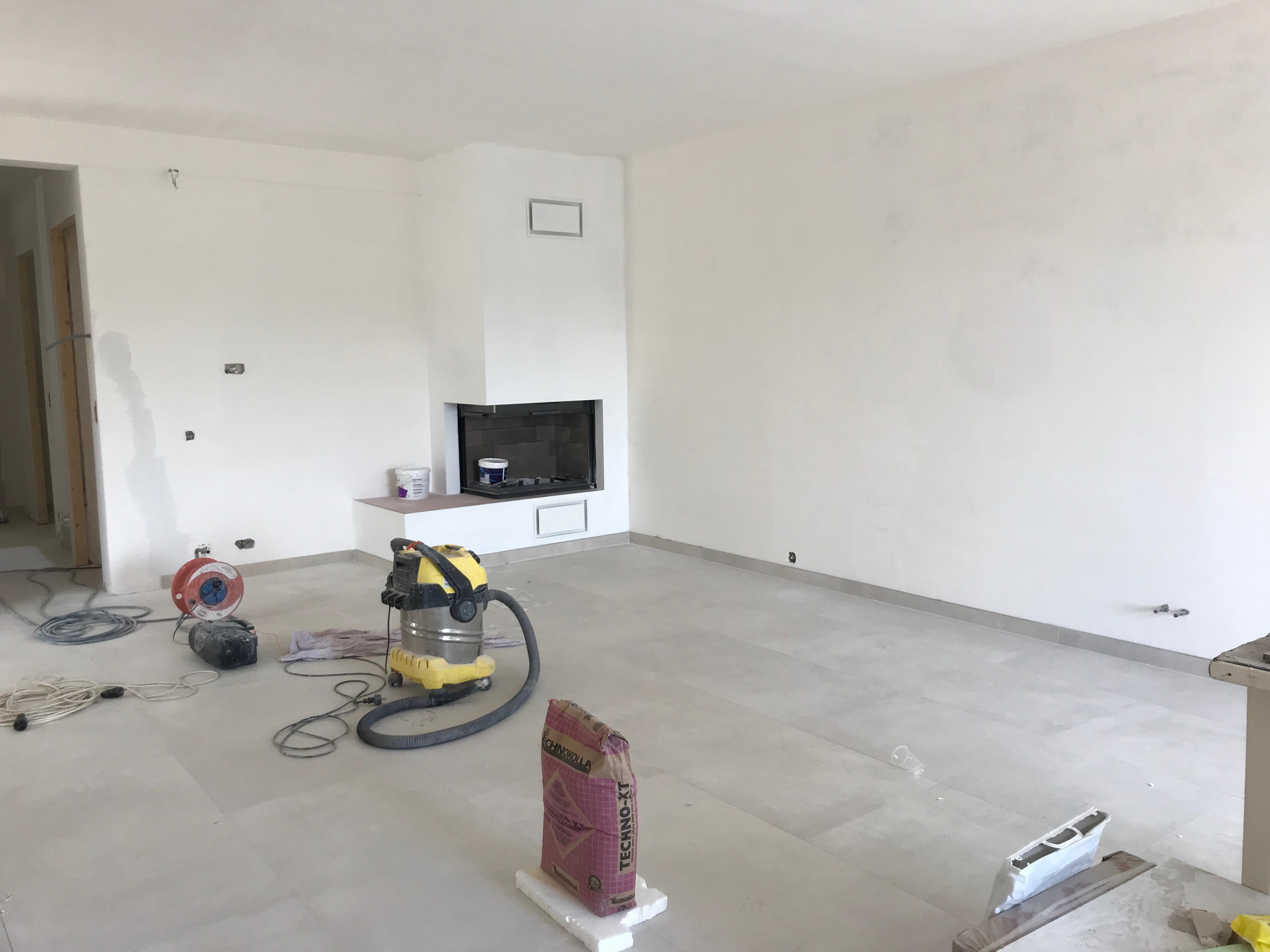 Projet en cours de réalisation : optimisation d'espace, rénovation complète et décoration d'une villa Saint…